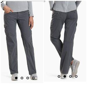 Kuhl Gray Splash Roll Up Cargo Pants Convertible